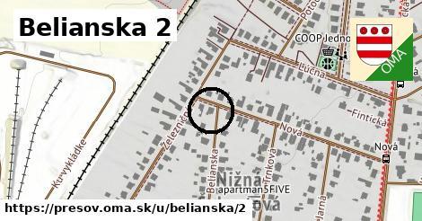 Belianska 2, Prešov