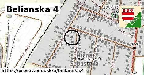 Belianska 4, Prešov