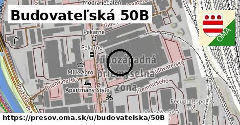 Budovateľská 50B, Prešov