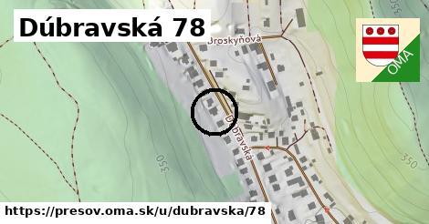 Dúbravská 78, Prešov