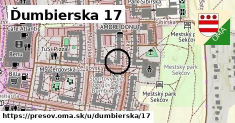 Ďumbierska 17, Prešov
