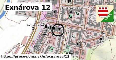 Exnárova 12, Prešov