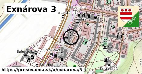 Exnárova 3, Prešov