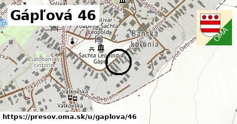 Gápľová 46, Prešov