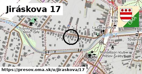 Jiráskova 17, Prešov