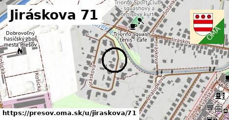 Jiráskova 71, Prešov