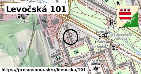 Levočská 101, Prešov