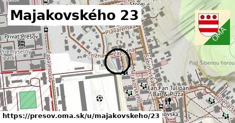 Majakovského 23, Prešov