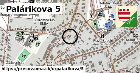 Palárikova 5, Prešov