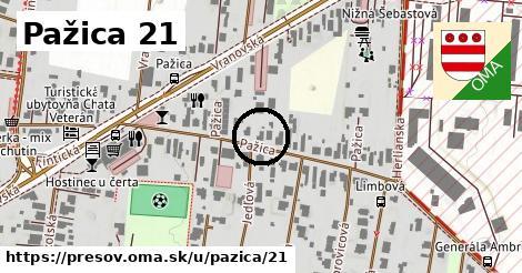 Pažica 21, Prešov