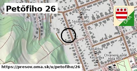Petőfiho 26, Prešov