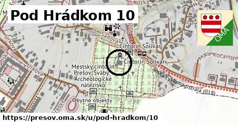 Pod Hrádkom 10, Prešov