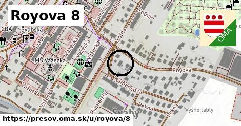 Royova 8, Prešov