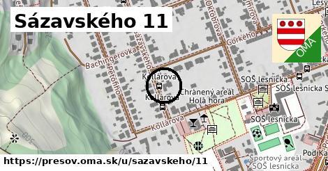 Sázavského 11, Prešov