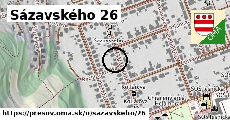 Sázavského 26, Prešov