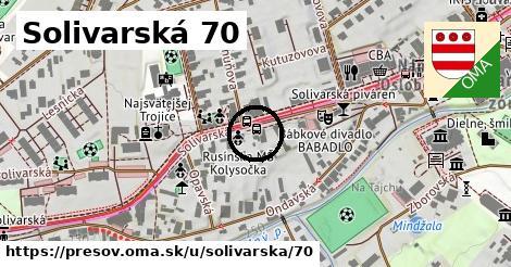 Solivarská 70, Prešov