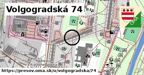 Volgogradská 74, Prešov
