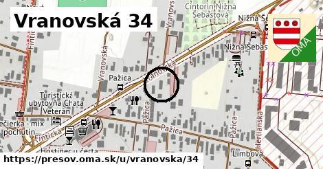 Vranovská 34, Prešov