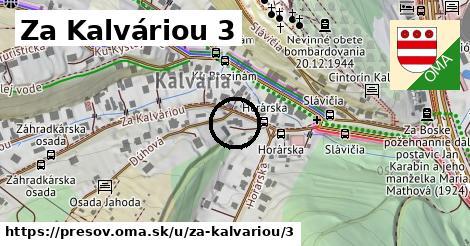 Za Kalváriou 3, Prešov