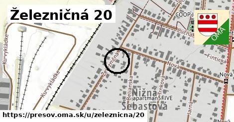 Železničná 20, Prešov