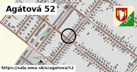 Agátová 52, Šaľa