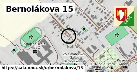 Bernolákova 15, Šaľa