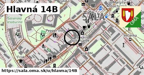 Hlavná 14B, Šaľa