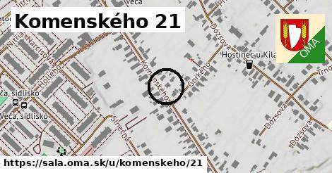 Komenského 21, Šaľa