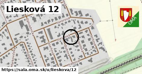 Liesková 12, Šaľa