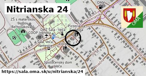 Nitrianska 24, Šaľa