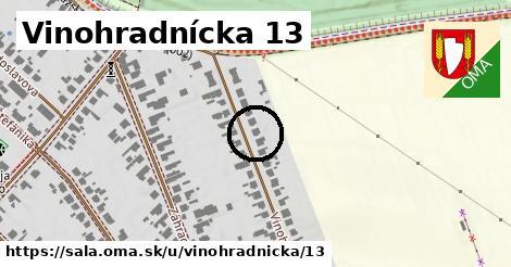 Vinohradnícka 13, Šaľa