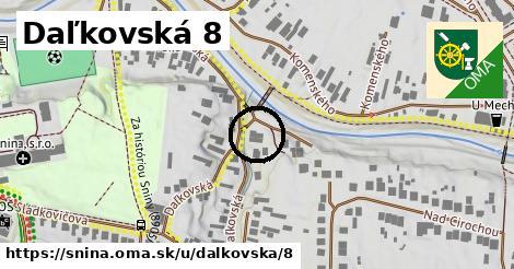 Daľkovská 8, Snina