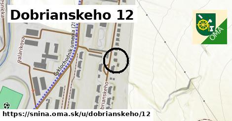 Dobrianskeho 12, Snina