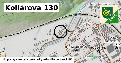 Kollárova 130, Snina