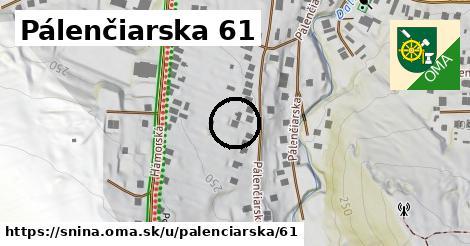 Pálenčiarska 61, Snina