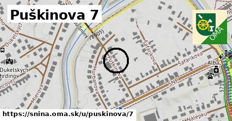 Puškinova 7, Snina
