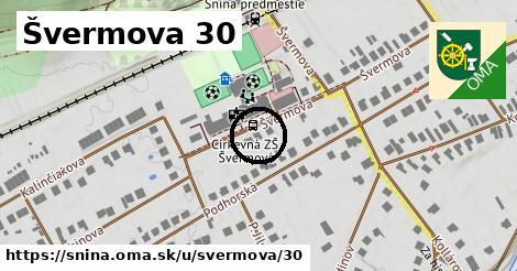 Švermova 30, Snina