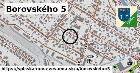 Borovského 5, Spišská Nová Ves