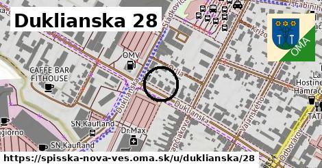 Duklianska 28, Spišská Nová Ves