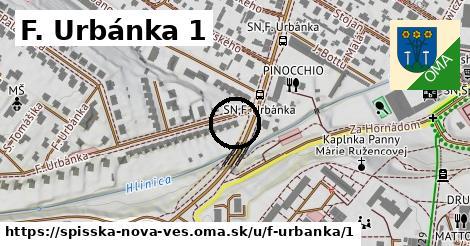 F. Urbánka 1, Spišská Nová Ves