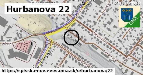 Hurbanova 22, Spišská Nová Ves