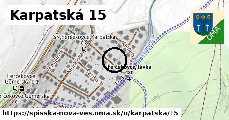 Karpatská 15, Spišská Nová Ves