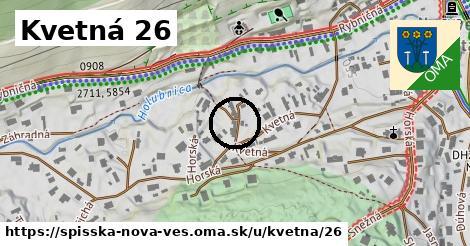 Kvetná 26, Spišská Nová Ves