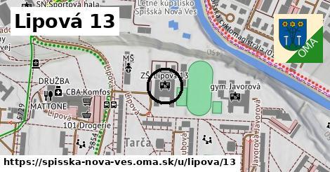 Lipová 13, Spišská Nová Ves