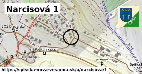 Narcisová 1, Spišská Nová Ves