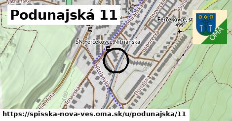 Podunajská 11, Spišská Nová Ves