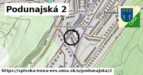 Podunajská 2, Spišská Nová Ves