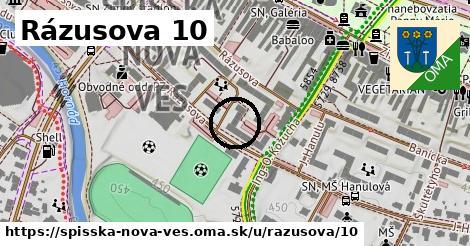 Rázusova 10, Spišská Nová Ves