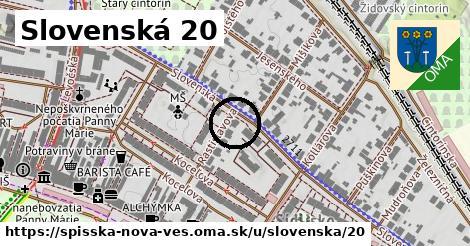 Slovenská 20, Spišská Nová Ves