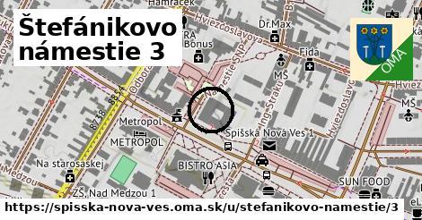 Štefánikovo námestie 3, Spišská Nová Ves